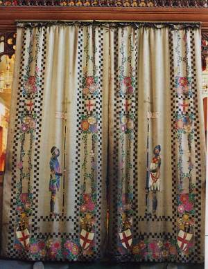 Picture of curtains